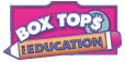 Register with Box Tops for Education for the benefit of